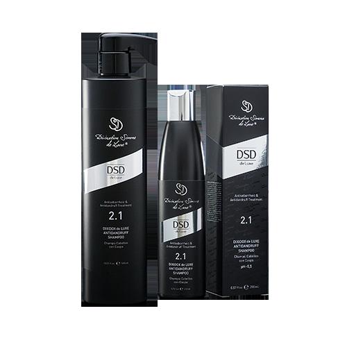2 1 dixidox de luxe antidandruff shampoo